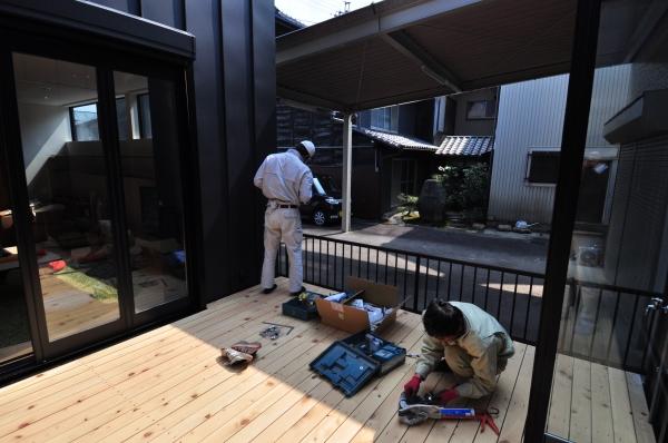 ゴーヤウォール-1/つながる家/岐阜の設計事務所 スペースワイドスタジオ