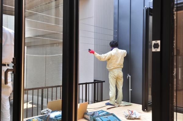ゴーヤウォール-2/つながる家/岐阜の設計事務所 スペースワイドスタジオ