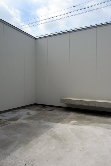 パティオ/岩崎の家/岐阜の設計事務所 スペースワイドスタジオ